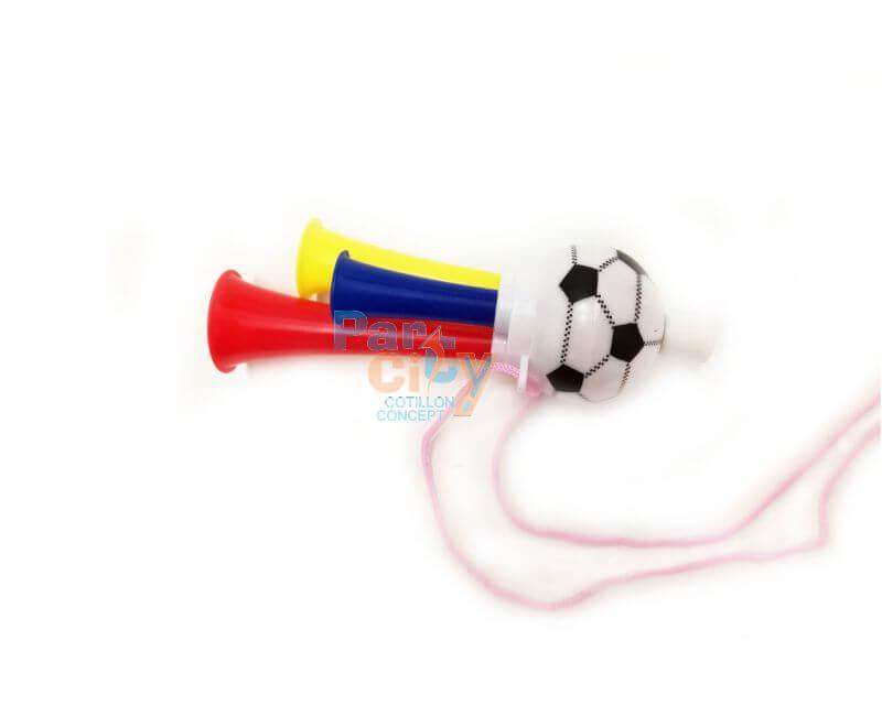 Corneta futbol plastico rigido tres tubos x4 cotill n - Tubo plastico rigido ...