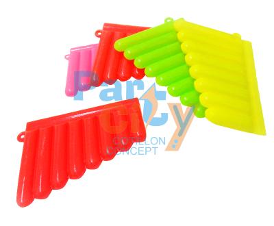 armónicas de plastico un color x12